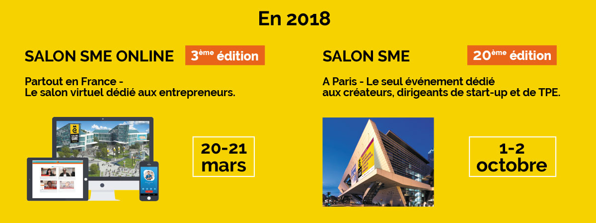 Salon sme ex salon des micro entreprises les 1er et 2 octobre 2018 paris - Salon des micro entreprise ...
